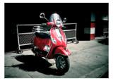 Shiny Red Vespa by Paddlenround, photography->transportation gallery