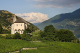 Vineyard and church by Paul_Gerritsen, Photography->Landscape gallery