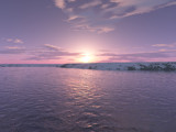 Arctic Sunset by rhelms, Computer->Landscape gallery