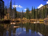 Indian Peaks Pond by Yenom, Photography->Landscape gallery