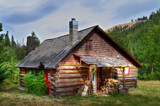 Log Cabin by DigiCamMan, photography->manipulation gallery