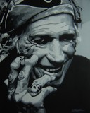 KEITH RICHARDS by nuke88, illustrations->traditional gallery