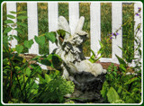 Garden Fairy by trixxie17, photography->sculpture gallery