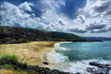 Clouds Over Oahu by LynEve, photography->shorelines gallery