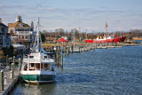 Lewes And Rehoboth Canal by Jimbobedsel, photography->boats gallery