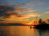 Sunset on Lake Maurepas, Louisiana by Vivianne, Photography->Sunset/Rise gallery