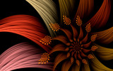 Mandarin Sunset by tealeaves, Abstract->Fractal gallery