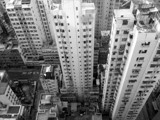 Looking Down at Hong Kong by Pistos, photography->architecture gallery