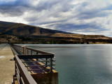 A Cloudy Dam View by LynEve, Photography->Shorelines gallery