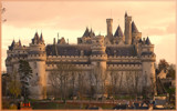 Castle of Pierrefonds (sunset) by Heroictitof, Photography->Castles/Ruins gallery
