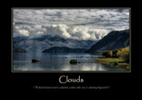 Clouds Poster by LynEve, photography->landscape gallery