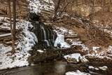 Beulah Falls in Winter by Mitsubishiman, photography->waterfalls gallery