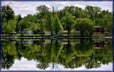 Across A Calm River by Jimbobedsel, Photography->Landscape gallery