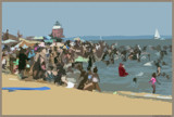 Busy Beach by bOdell, photography->shorelines gallery