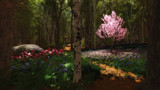 Cherry Tree Concerto by Akeraios, computer->landscape gallery