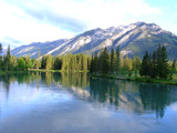 Mirror Bow River by thekorger, Photography->Mountains gallery