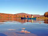 Canoeing on Kent Pond by VTscapes, photography->action or motion gallery