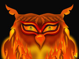 FireOwl by Jhihmoac, Illustrations->Digital gallery