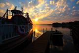 Docked Sunrise by tigger3, photography->sunset/rise gallery