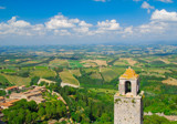 Above San Gimignano 2 by djholmes, Photography->Landscape gallery