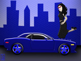 Challenger - Street Sweet VIII by Jhihmoac, Illustrations->Digital gallery