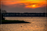 Sunset Over Lake Of Veere 4 by corngrowth, photography->sunset/rise gallery