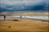 Beach Life (3), Under A Dramatic Sky by corngrowth, photography->shorelines gallery