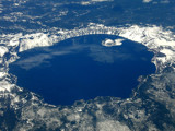 Crater Lake from 30,000 ft by pseudomally, Photography->Landscape gallery