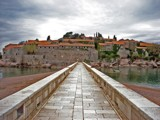 Morning in Sveti Stefan by georgxp, Photography->City gallery
