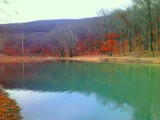End of fall foliage at Devil's Den by galaxygirl1, photography->nature gallery