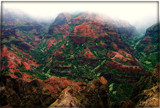 Mountains of Waimea Canyon, Kauai by trixxie17, photography->mountains gallery