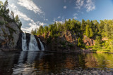 High Falls of the Baptism River - 1 by Mitsubishiman, photography->waterfalls gallery