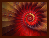 Red Spiral by Beesknees, Abstract->Fractal gallery