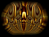 Golden ball by MarianaEwa, Abstract->Fractal gallery