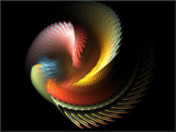 Swirling Away by yellowdog07, Abstract->Fractal gallery