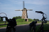 Windmill and bikes by lindala, Photography->Landscape gallery