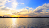 Sunset Sky Over Center Lake (comparison) by tigger3, photography->sunset/rise gallery