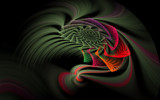 Flourescent Twister by tealeaves, Abstract->Fractal gallery