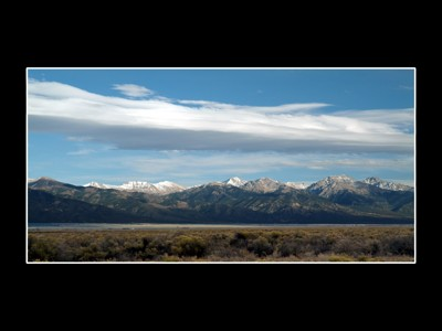 Sangre De Cristo Mountains by fotobob, Photography->Mountains gallery