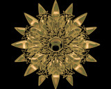 golden lotus eye by cro5point, abstract gallery