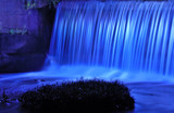 Blue Night in Helena by SatCom, Photography->Waterfalls gallery