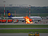 Fire at the Airport by Ramad, photography->aircraft gallery