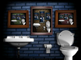 The Bathroom Mirror by incommon, abstract->Surrealism gallery