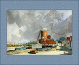 Cley Mill-Norfolk by Trevorcardigan, Illustrations->Traditional gallery
