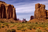 a monument valley view by jeenie11, Photography->Landscape gallery