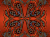 Persimmon Magic by Flmngseabass, abstract gallery