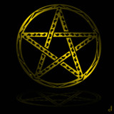 Pagan Pentacle by Jhihmoac, illustrations->digital gallery