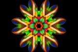 Rainbow Flower by LynEve, photography->manipulation gallery