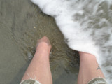 getting my feet wet by m_koempel, photography->shorelines gallery