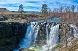 Meanwhile, Back At White River Falls by gr8fulted, photography->waterfalls gallery